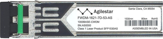 Finisar FWDM-1621-7D-53-AS (Agilestar Original) SFP Transceiver Module