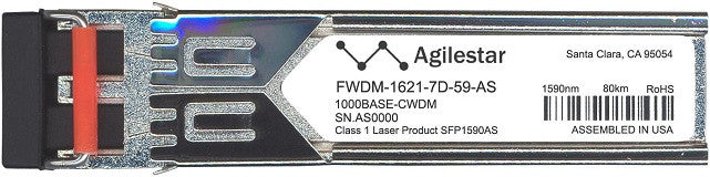 Finisar FWDM-1621-7D-59-AS (Agilestar Original) SFP Transceiver Module