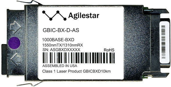 Cisco GBIC Transceivers GBIC-BX-D-AS (Agilestar Original) GBIC Transceiver Module