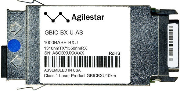 Cisco GBIC Transceivers GBIC-BX-U-AS (Agilestar Original) GBIC Transceiver Module
