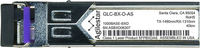 Cisco SFP Transceivers GLC-BX-D-AS (Agilestar Original) (40km) SFP Transceiver Module