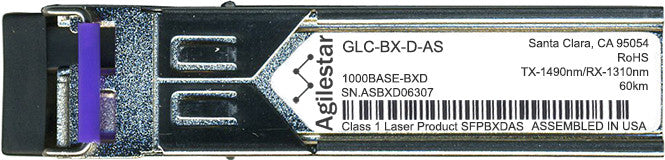 Cisco SFP Transceivers GLC-BX-D-AS (Agilestar Original) (60km) SFP Transceiver Module