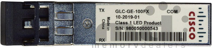 Cisco SFP Transceivers GLC-GE-100FX (Cisco Original) SFP Transceiver Module