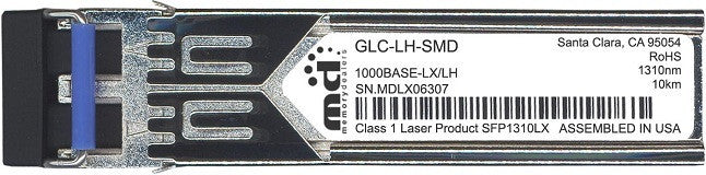 Cisco SFP Transceivers GLC-LH-SMD (100% Cisco Compatible) SFP Transceiver Module