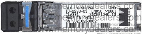 Cisco SFP Transceivers GLC-LX-SM-RGD (Cisco Original) SFP Transceiver Module