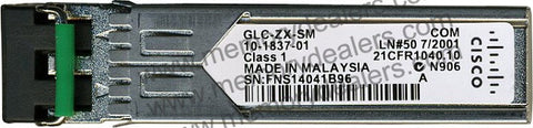 Cisco SFP Transceivers GLC-ZX-SM (Cisco Original) SFP Transceiver Module