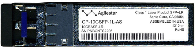 Force10 Networks GP-10GSFP-1L-AS (Agilestar Original) SFP+ Transceiver Module