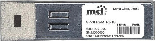 Force10 GP-SFP2-MTRJ-1S (100% Force10 Compatible) SFP Transceiver Module