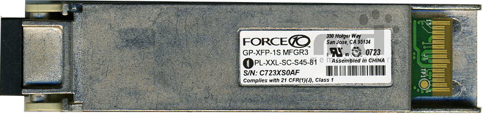 Force10 Networks GP-XFP-1S (Force10 Original) XFP Transceiver Module