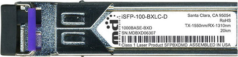 Alcatel SFP Transceivers iSFP-100-BXLC-D (100% Alcatel-Lucent Compatible) SFP Transceiver Module