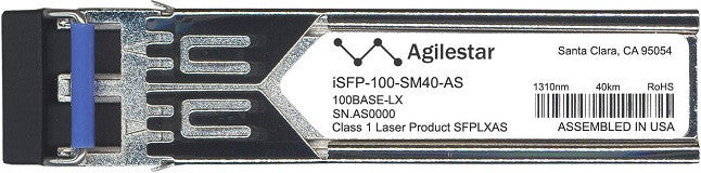 Alcatel SFP Transceivers iSFP-100-SM40-AS (Agilestar Original) SFP Transceiver Module