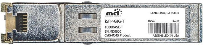 Alcatel SFP Transceivers iSFP-GIG-T (100% Alcatel-Lucent Compatible) SFP Transceiver Module