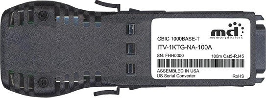 McAfee ITV-1KTG-NA-100A (100% McAfee Compatible) GBIC Transceiver Module
