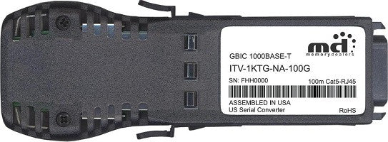 McAfee ITV-1KTG-NA-100G (100% McAfee Compatible) GBIC Transceiver Module