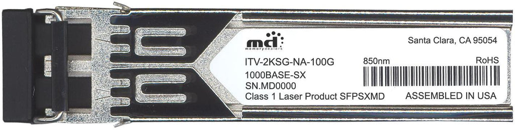 McAcfee ITV-2KSG-NA-100G (100% McAfee Compatible) SFP Transceiver Module