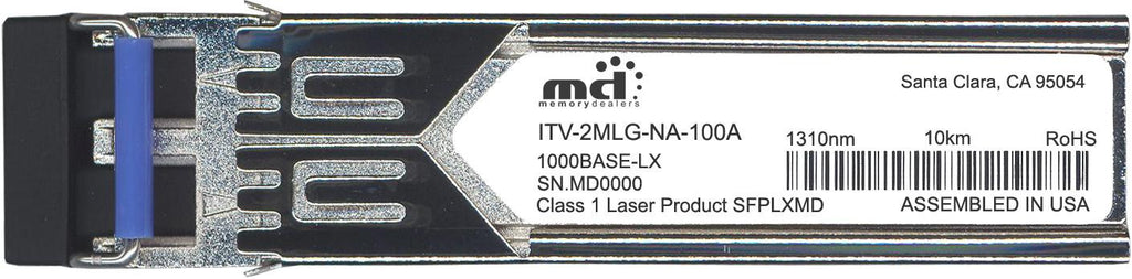 McAcfee ITV-2MLG-NA-100A (100% McAfee Compatible) SFP Transceiver Module