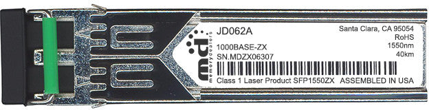 HP JD062A (100% HP Compatible) SFP Transceiver Module