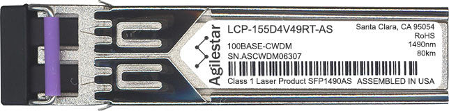 Delta LCP-155D4V49RT-AS (Agilestar Original) SFP Transceiver Module