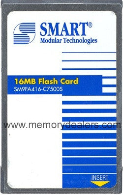 Memory 16MB Approved Cisco RP Linear Flash memory (p/n: MEM-RP-FLC16M=) Route Processors - RP,RSP,CIP2,GRP,ESR,GSR Transceiver Module