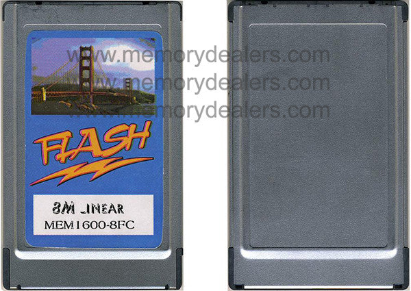 Memory 8MB Approved Flash Card for Cisco 1600 Series (p/n: MEM1600-8FC=) Router Memory Transceiver Module