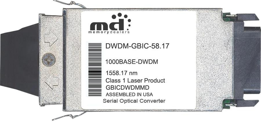 Cisco GBIC Transceivers DWDM-GBIC-58.17 (100% Cisco Compatible) GBIC Transceiver Module