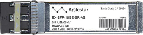 Juniper Networks EX-SFP-10GE-SR-AS (Agilestar Original) SFP+ Transceiver Module