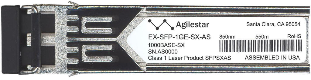 Juniper Networks EX-SFP-1GE-SX-AS (Agilestar Original) SFP Transceiver Module