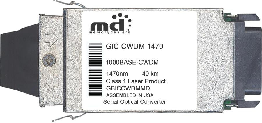 RiverStone Networks GIC-CWDM-1470 (100% RiverStone Compatible) GBIC Transceiver Module