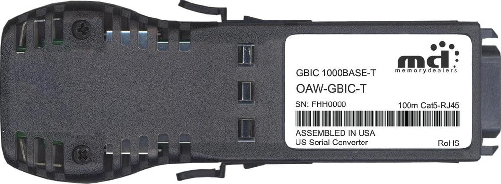 Alcatel-Lucent OAW-GBIC-T (100% Alcatel-Lucent Compatible) GBIC Transceiver Module