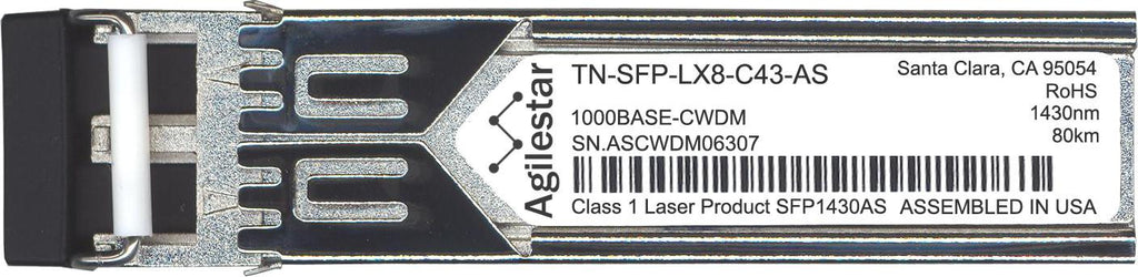 Transition Networks TN-SFP-LX8-C43-AS (Agilestar Original) SFP Transceiver Module