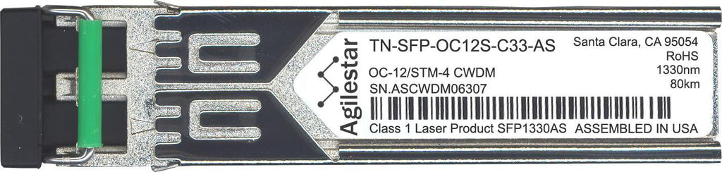 Transition Networks TN-SFP-OC12S-C33-AS (Agilestar Original) SFP Transceiver Module