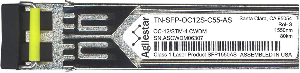 Transition Networks TN-SFP-OC12S-C55-AS (Agilestar Original) SFP Transceiver Module