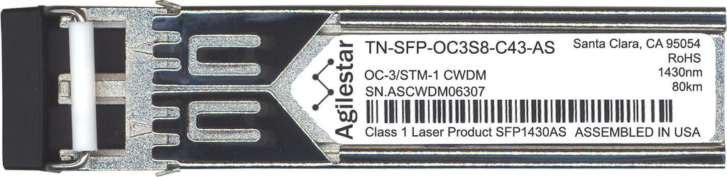 Transition Networks TN-SFP-OC3S8-C43-AS (Agilestar Original) SFP Transceiver Module