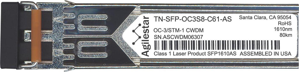 Transition Networks TN-SFP-OC3S8-C61-AS (Agilestar Original) SFP Transceiver Module