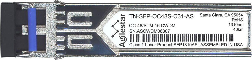 Transition Networks TN-SFP-OC48S-C31-AS (Agilestar Original) SFP Transceiver Module