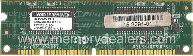 Hardware 16MB Approved Cisco 1700 Series SDRAM DIMM memory (p/n: MEM1700-16D=) Router Memory Transceiver Module