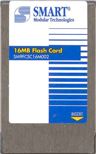 Memory 16MB Cisco Approved Flash Card memory (p/n MEM-ASP-FLC16M) Lightstream Cisco Memory Transceiver Module
