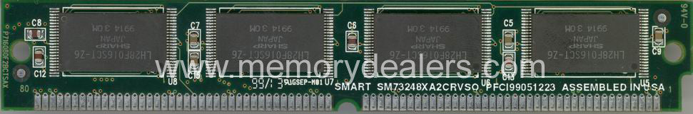 Memory 16MB Approved Cisco Flash SIMM memory (p/n: MEM-1X16F-DFB=) Access Server Memory Transceiver Module
