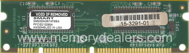 Hardware 16MB Approved Cisco 2650 Series SDRAM DIMM memory (p/n: MEM2650-16D=) Router Memory Transceiver Module