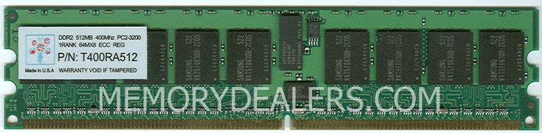 Memory 1GB IBM eServer xSeries PC2-3200 ECC (non-Chipkill) Memory Kit (MD-73P3522) IBM IntelliStation Memory Transceiver Module