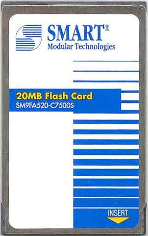 Memory 20MB Cisco Approved Flash Card memory (p/n MEM-ASP-FLC20M) Lightstream Cisco Memory Transceiver Module