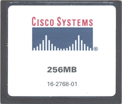 Memory 256MB Approved memory, Cisco NPE-G100 Compact Flash (p/n: 7304-I/O-CFM-256MB=) Internet Router Memory Transceiver Module