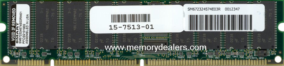 Memory 256MB Approved memory, Cisco VIP4 SDRAM DIMM (p/n: MEM-VIP4-256M-SD=) VIP- Versatile Interface Processor Memory Transceiver Module