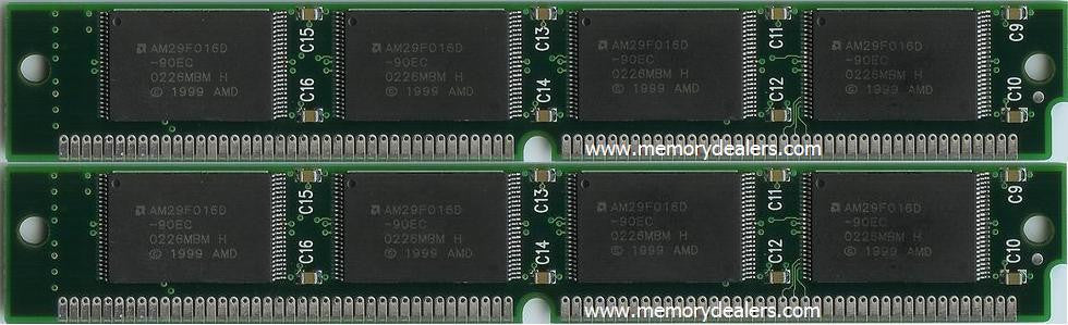 Memory 32MB Memory Dealers, Cisco 3600 Series Flash SIMM Kit (p/n: MEM3600-2X16FS) Router Memory Transceiver Module