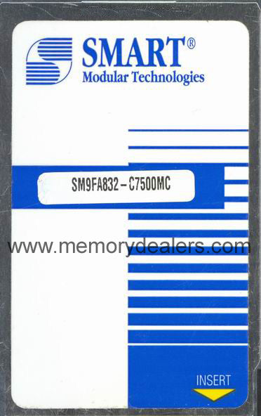 Memory 32MB Approved memory, Cisco RSP Linear Flash (p/n: MEM-RSP-FLC32M=, MEM-RSP4-FLC32M or MEM-RSP8-FLC32M) Route Processors - RP,RSP,CIP2,GRP,ESR,GSR Transceiver Module