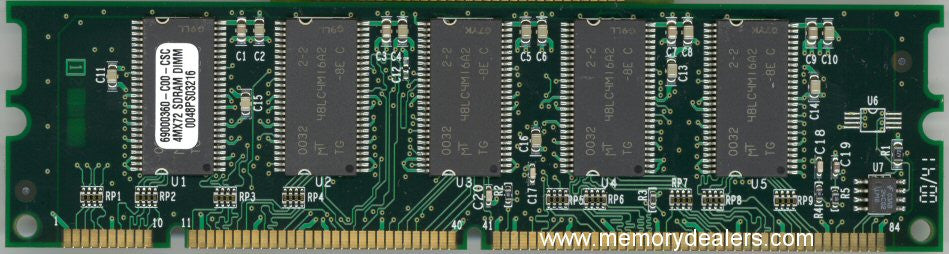 Hardware 32MB Approved memory, Cisco Catalyst 4000 Upgrade (p/n: MEM-C4K-32-RAM=) Catalyst Series Memory Transceiver Module