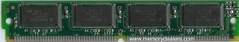 Memory 4MB Approved memory, Cisco 3100, 3200 Series Flash SIMM (p/n: MEM-1X4F=) Router Memory Transceiver Module
