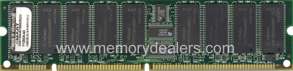 Memory 512MB Approved memory, Cisco MCS 7830 SDRAM DIMM (p/n: MEM-7830-512-100=) Cisco Servers Transceiver Module