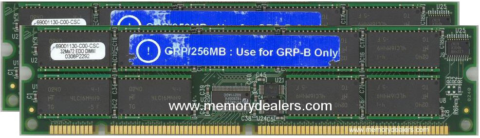 Hardware 512MB Approved memory, Cisco 12000 GRP Upgrade (p/n: MEM-GRP-512=) Route Processors - RP,RSP,CIP2,GRP,ESR,GSR Transceiver Module