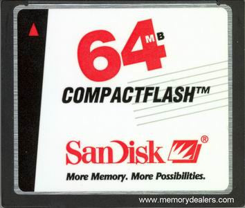 Memory 64MB Cisco 1800 Series Compact Flash (p/n: MEM1800-64CF=) Router Memory Transceiver Module